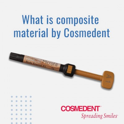 What is composite material by Cosmedent